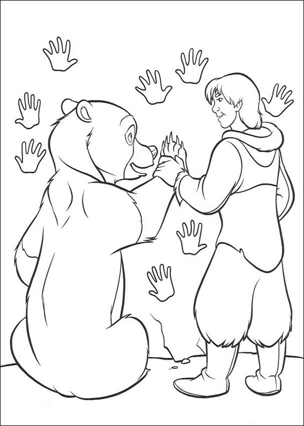 Brother Bear Color Pages 11