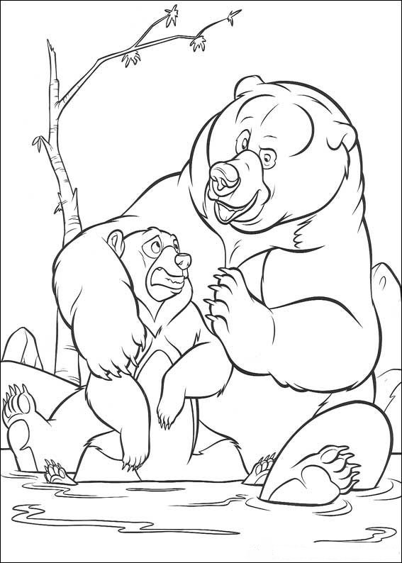 Brother Bear Color Pages 8