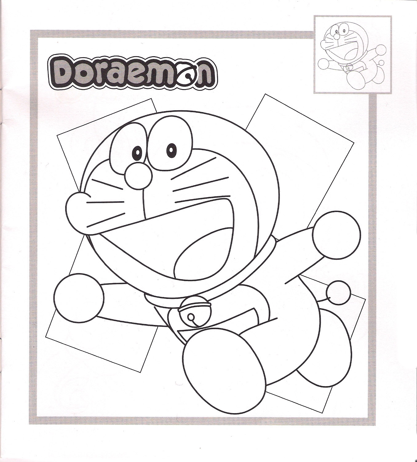Doraemon Color Pages 4