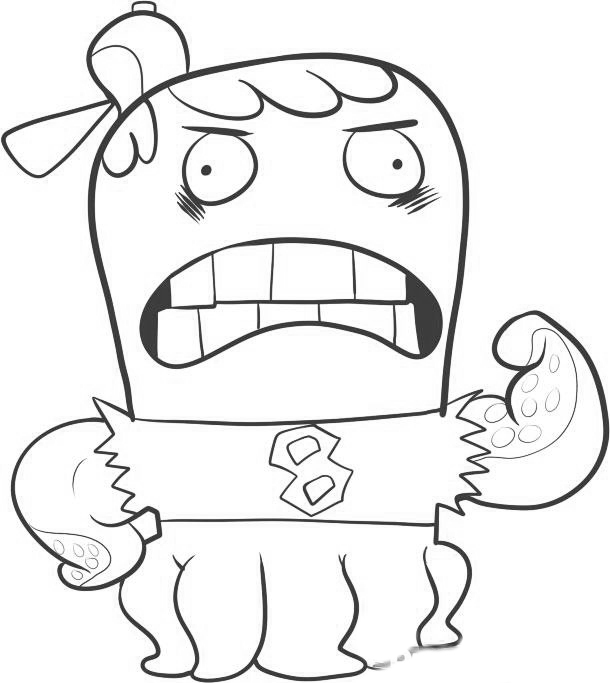 Fish Hooks Color Pages 10