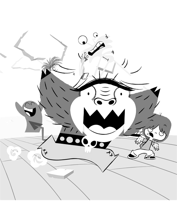 Fosters Home for Imaginary Friends Color Pages 12