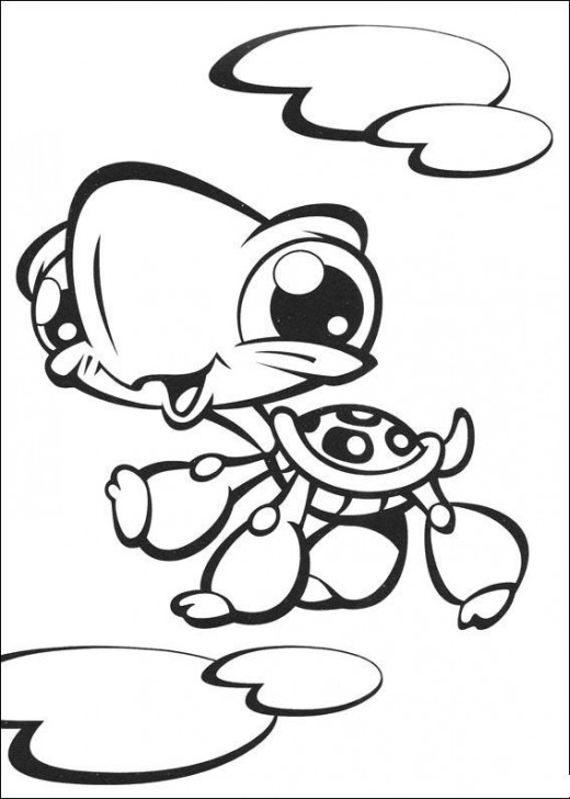 Littlest Pet Shop Color Pages 2