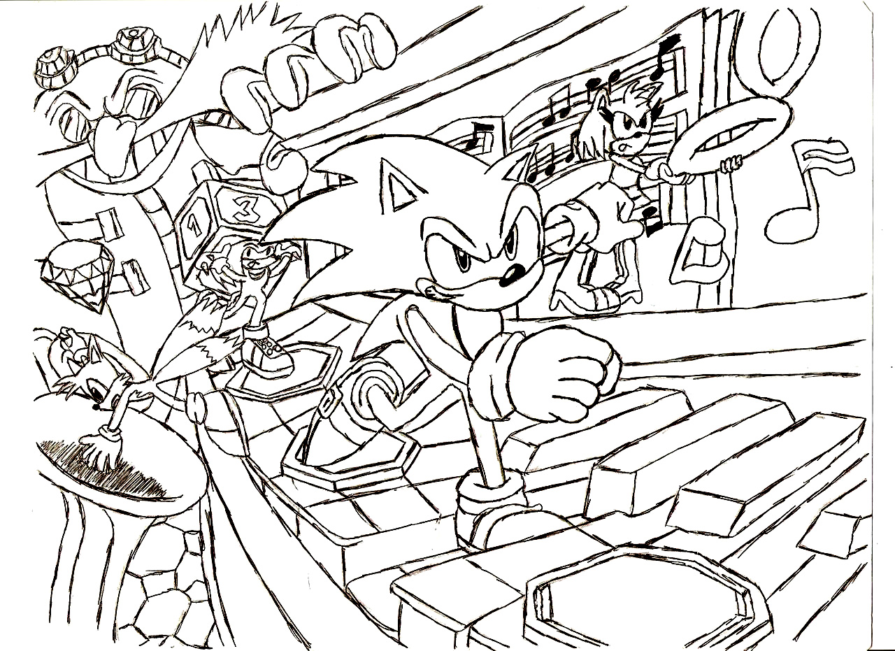 Sonic Color Pages 11