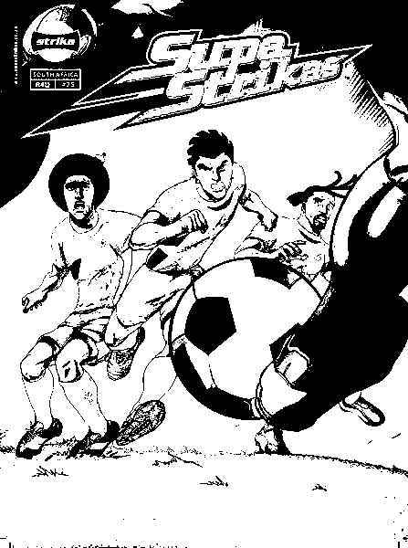 Supa Strikas Color Pages 8