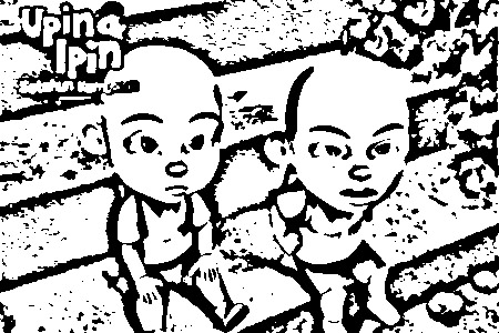 Upin Ipin Color Pages 2