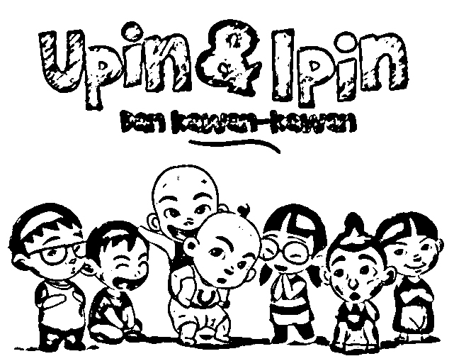 Upin Ipin Color Pages 3